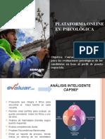 Plataforma Online - Evaluación Psicologica
