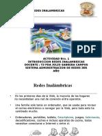 Actividad Nro1 REDES INALAMBRICAS INTRODUCCION