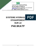 Chapitre 5 Système Hydraulique