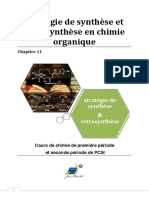chapitre14strategiedesynthèse