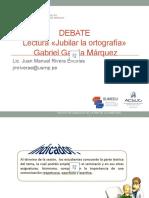 LENG.SESIÓN 10-EL DEBATE-JUBILAR LA ORTOGRAFÍA-JM-2020 I.pptx