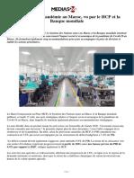 L'Impact de La Pandémie Au Maroc, Vu Par Le HCP Et La Banque Mondiale