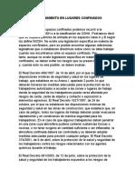 MANTENIMIENTO EN LUGARES CONFINADOS