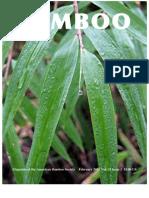 Magazine of the American Bamboo Society