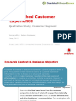 Unmatched Customer Experience Consumers Qualitative Report.pptx