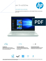 HP Pavillion Notebook 15