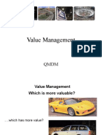 Topic 3 Value Management