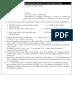 Taller Ejercicios Conversion Unidades y Cifras Significativas