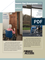 Door Opener Brochure