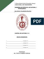 CONTROL DE LECTURA N° 10 - EL LIBERALISMO DE LOCKE