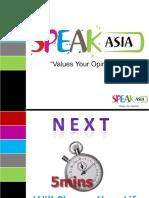 SpeakAsiaCompensationPlanPresentationMr.RiteshSpeakAsia