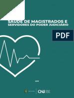 PESQUISA CNJ - Saúde Magistrados e Servidores