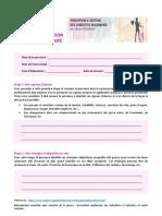 Guide d'élaboration du plan de sécurité Suicide