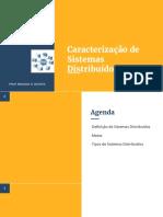 Aula 2.2 - Caracterização de Sistemas Distribudos