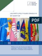 Studie zu Politischen Parteien (frz.) (Pdf)