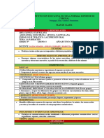 FORMATO  PLAN DE CLASES LENGUA CASTELLANA (2)