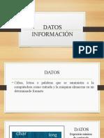 Datos informacion y sabiduria