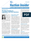 UHY Construction Newsletter - February 2011