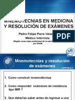Mnemotecnias y resoluciòn de exámenes