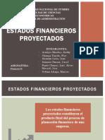 Estados Financieros Proyectados - PPT