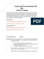 virtual training -9week