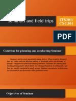 MODULE 2- Field trips