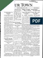 Our Town April 11, 1930