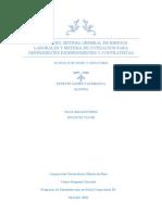 CUADRO DEL SISTEMA GENERAL DE RIESGOS LABORALES Y SISTEMA DE COTIZACION PARA DEPENDIENTES INDEPENDIENTES Y CONTRATISTAS