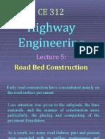 lec 5 - road bed construction