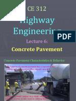 lec 6 - concrete pavement