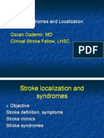 Stroke Syndromes and Localization 2007
