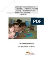 Proyecto Centro TIC Docente