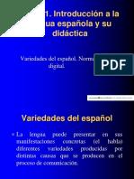 Tema 1L2 Variedades, norma digital