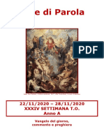 Sete di Parola - XXXIV Settimana T.O._A.doc