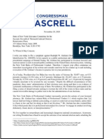 Pascrell Complaint