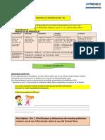 SEM-32-Experiencia Aprendizaje -4to