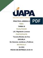 PRACTICA JURIDICA II -3-