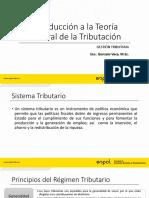 1.- Teoria general de tributación