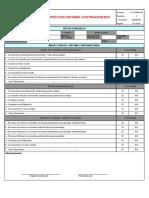 FC-SSMA-46 Inspección sistema contraincendio