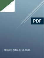 RESUMENES LIBRO ALMA TOGA ELECTIVA 1
