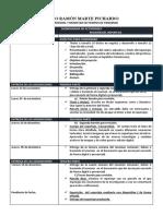 CRONOGRAMA DE ACTIVIDADES SOBRE EL REPORTAJE