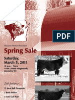 WHA Spring Sale Catalog 2011