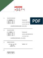 Ecuaciones micro y macro