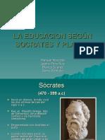 SOCRATES Y PLATON