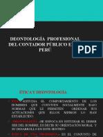 3. CONTA VI  - Deontología profgesional del contador público en el Perú
