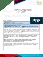 Unit 3 -Task 5 - Communicative Production (1)- traducida al español