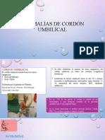 Anomalías de cordón umbilical [Autoguardado]