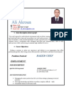 akroun Resume CV