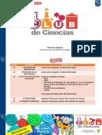 CLUB DE CIENCIAS PRIMERA SEMANA INSTRUCCIONES
