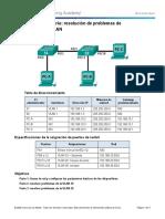 6.2.3.9 Lab - Troubleshooting VLAN Configurations